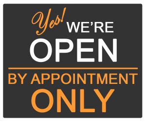 Open by appointment only sign.png